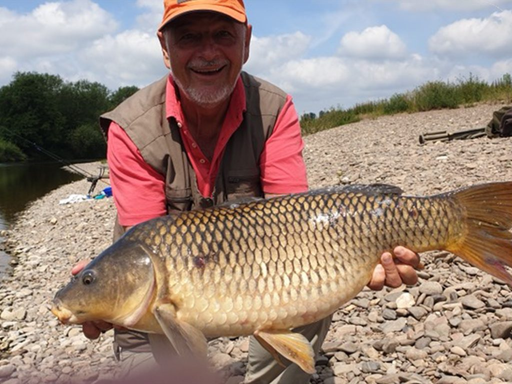 20lb 8oz Common carp caught lower Backney